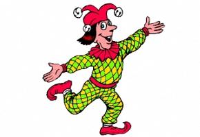 kostenlose ausmalbilder clown